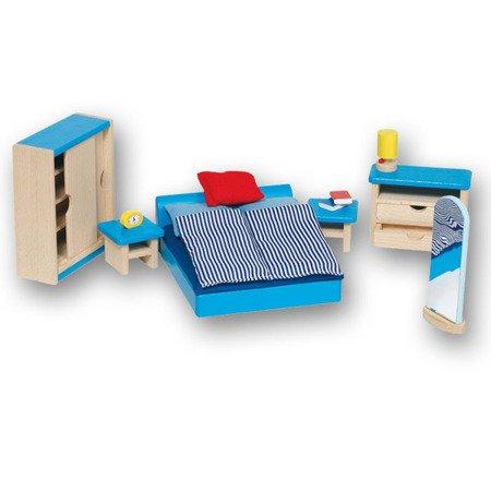 Sypialnia do domu dla lalek