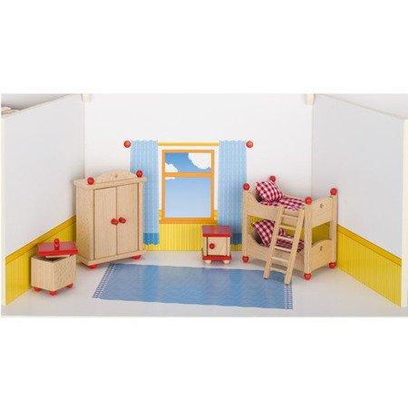 Sypialnia dziecięca do domu dla lalek, GOKI-51953