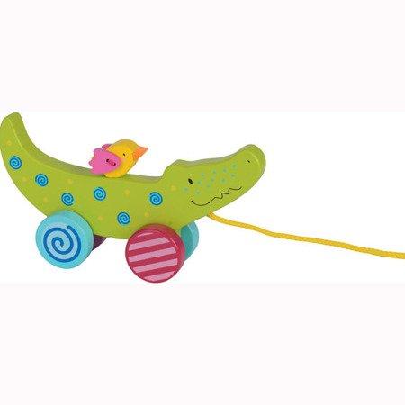 Zabawka, krokodyl do ciągnięcia, Goki