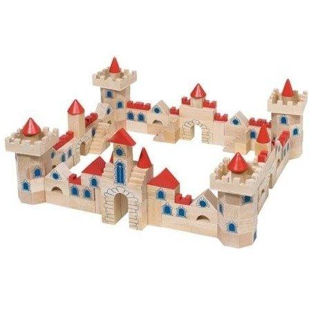 Zamek z klocków,  zestaw, 145 części, Goki 58984