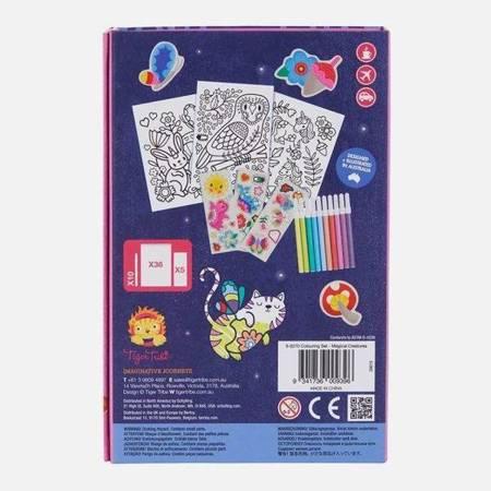 Zestaw plastyczny do kolorowania: Magiczne Stworzenia